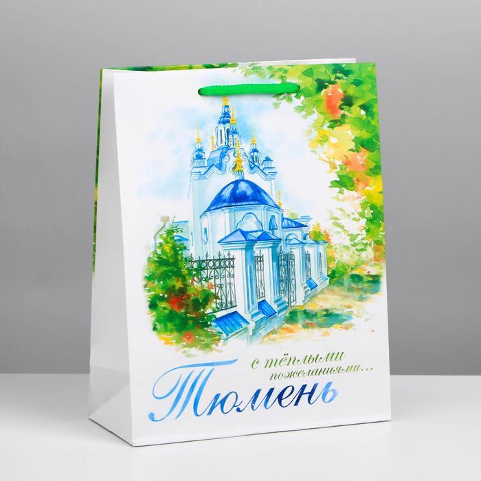 Пакет подарочный МS Тюмень