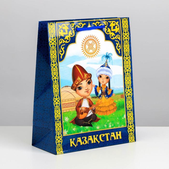 Пакет подарочный МС Казахстан