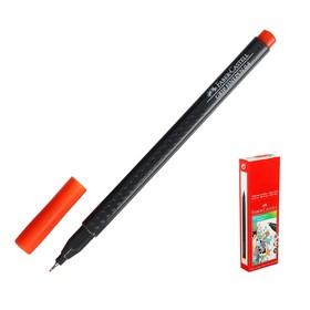 Ручка капиллярная Faber-Castell GRIP линер 0.4 мм тёмная охра Ош