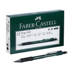 Карандаш механический 0.5 мм Faber-Castell GRIP 1345 с ластиком, резиновый упор, зелёный