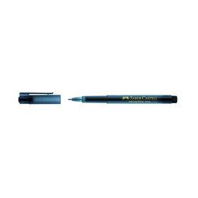 Ручка капиллярная Faber-Castell Broadpen, 0.8 мм перманентные чернила чёрные Ош