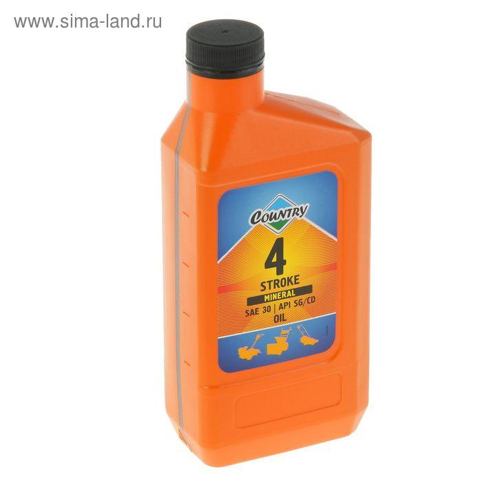 Масло четырехтактное Country минеральное SAE 30 SG/CD, 0,6 л