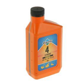 Масло четырехтактное Country минеральное SAE 30 SG/CD, 0,5 л Ош
