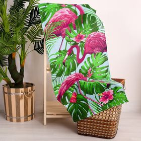 Полотенце «Фламинго», 60 × 146 см, 160 г/м², хлопок 100 % Ош