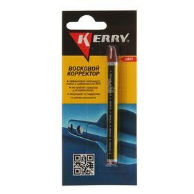 Восковой карандаш-корректор Kerry от сколов и царапин, красный, 6 г Ош
