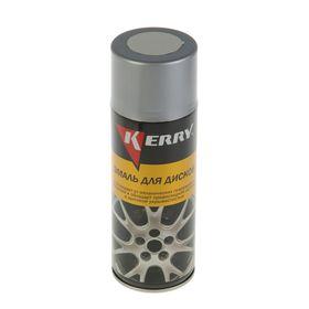 Эмаль для дисков Kerry светло-серая, 520 мл, аэрозоль Ош