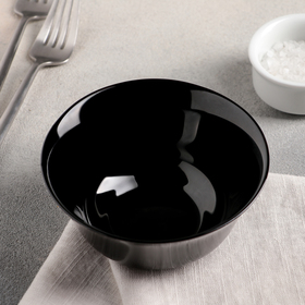 Салатник 300 мл Carine Noir Uni, 12 см