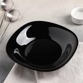 Тарелка суповая Carine Black, d=23,5 см