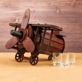 Мини-бар деревянный 'Самолет' Ош