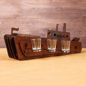 Мини-бар деревянный 'Корабль' Ош