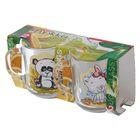 Набор кружек «Веселые зверюшки», 200 мл, 2 шт, в подарочной упаковке, рисунок МИКС - Фото 4