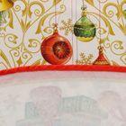 """Скатерть круглая Этель """"Новогодние игрушки"""" d = 160 см, 100 % хлопок - Фото 6"""