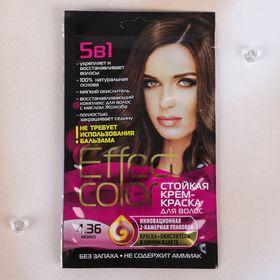 Cтойкая крем-краска для волос Effect Сolor тон мокко, 50 мл Ош