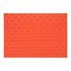 Подставка под горячее, оранжевый, пластик, размер 46х30 см