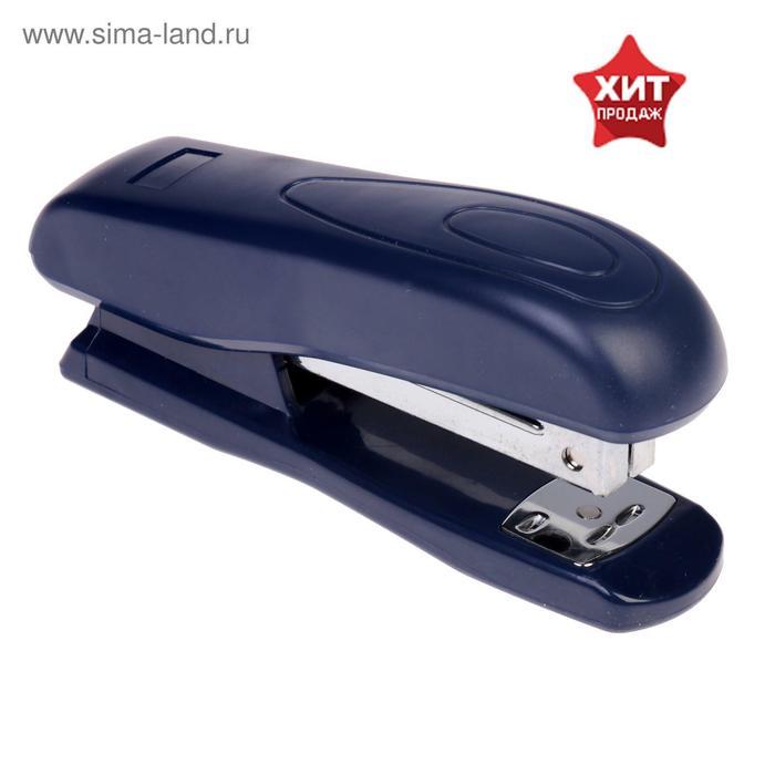 Степлер №24/6 до 25 листов Dolce Costo, пластиковый корпус, синий