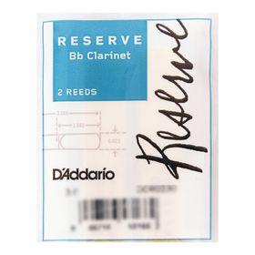 Трости Rico DCR0230 Reserve  для кларнета Bb, размер 3.0, 2шт.