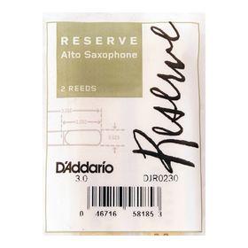 Трости Rico DJR0230 Reserve  для саксофона альт, размер 3.0, 2шт.