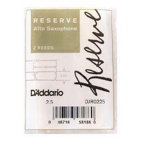 Трости Rico DJR0225 Reserve  для саксофона альт, размер 2.5, 2шт.