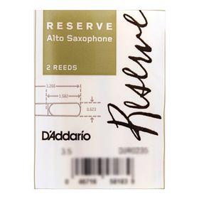 Трости Rico DJR0235 Reserve  для саксофона альт, размер 3.5, 2шт