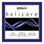 Струны для виолончели D'Addario H510-4/4M Helicore размером 4/4, среднее натяжение
