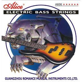 Комплект струн для бас-гитары Alice A606(4)-M  никель, 45-105 [10]