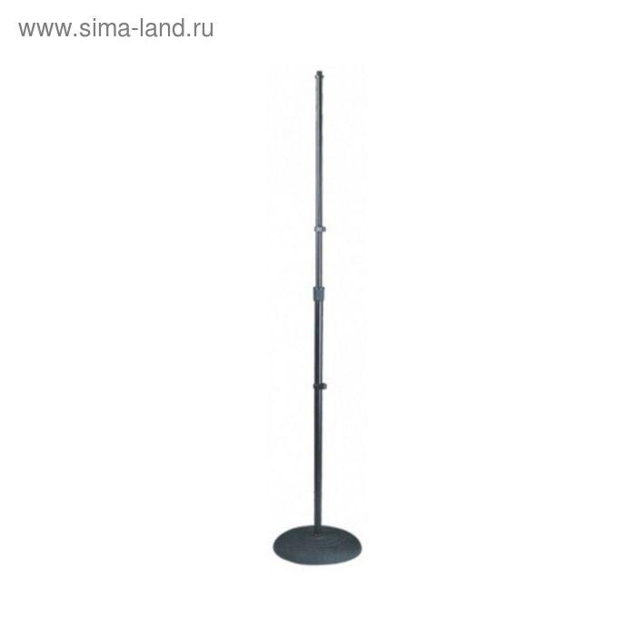 Микрофонная стойка Soundking DD049B прямая, черная