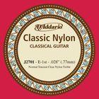 Отдельная первая струна для классической гитары D'Addario J2701 Classical, нейлон