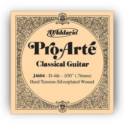 Отдельная 4-ая струна D'Addario J4604 Pro-Arte  для классической гитары, нейлон