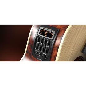 Эквалайзер Cherub GS-3  для акустической гитары, врезной, 4-х полосный