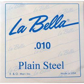 Отдельная стальная струна La Bella PS010  010