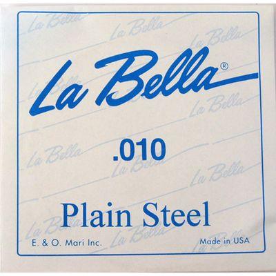 Отдельная стальная струна La Bella PS010  010 - Фото 1