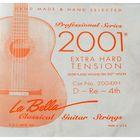 Отдельная 4-я струна La Bella 2004XH  для гитары посеребренная