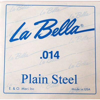 Отдельная стальная струна La Bella PS014  014 - Фото 1