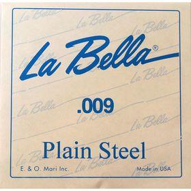 Отдельная струна La Bella PS009  без оплетки, 009