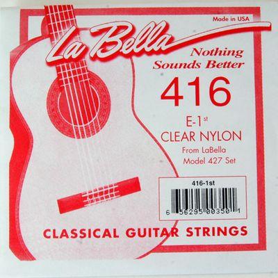 Отдельная струна La Bella 416  №1 нейлон La Bella - Фото 1