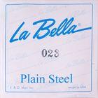 Отдельная стальная струна La Bella PS023 без оплетки, 023