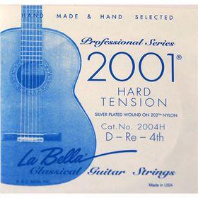 Отдельная 4-я струна La Bella 2004H  для гитары посеребренная