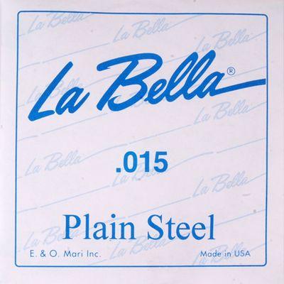 Отдельная стальная струна La Bella PS015 без оплетки, 015 - Фото 1