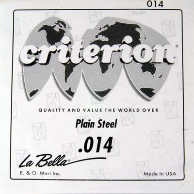 Отдельная струна La Bella CPS014  сталь, 014 - Фото 1