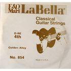 Отдельная струна La Bella 854  №4, бронза
