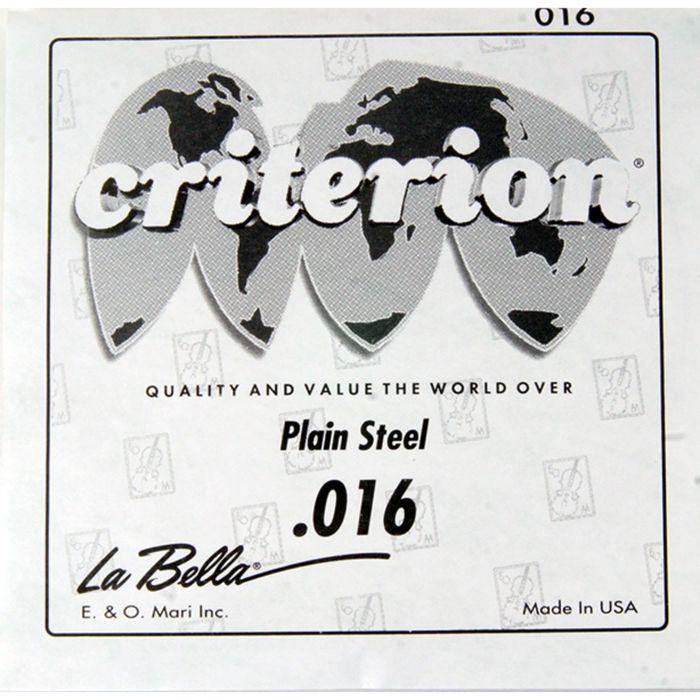 Отдельная струна La Bella CPS016  сталь, 016