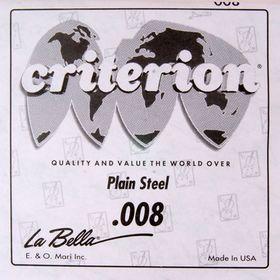 Отдельная 1-я струна La Bella CPS008  сталь, 008