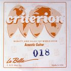 Отдельная струна La Bella GW018  сталь в бронзовой оплетке, 018
