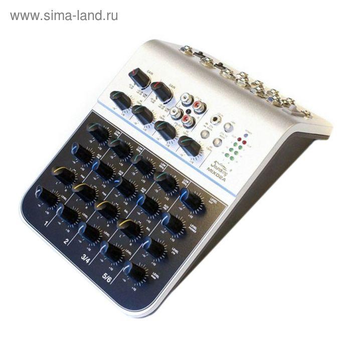 Микшерный пульт Soundking MIX02A (мини), 6 каналов