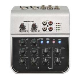 Микшерный пульт Soundking MIX02-1A (мини), 6 каналов Ош