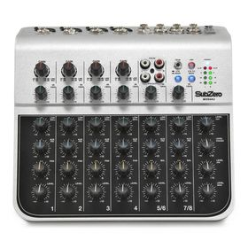 Микшерный пульт Soundking MIX04AU (мини), 8 каналов, USB Ош