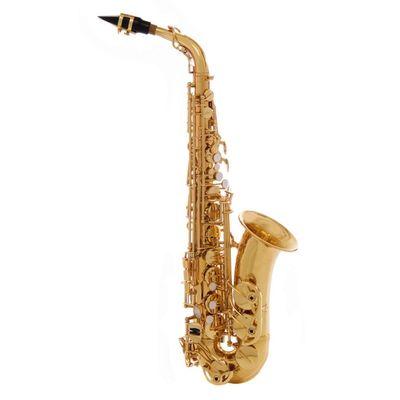 Саксофон-альт John Packer JP045G  Eb, золотой лак - Фото 1