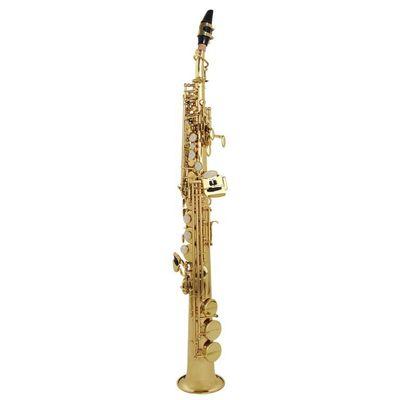 Саксофон-сопрано John Packer JP043G  Bb, прямой, золотой лак - Фото 1