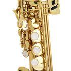 Саксофон-сопрано John Packer JP043G  Bb, прямой, золотой лак - Фото 4