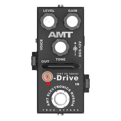 Гитарная педаль AMT Electronics OD-2 O-Drive mini  перегруза - Фото 1